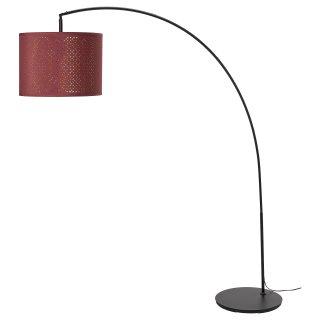 NYMOSKAFTET καμπυλωτό φωτιστικό δαπέδου, Κόκκινο | IKEA Ελλάδα