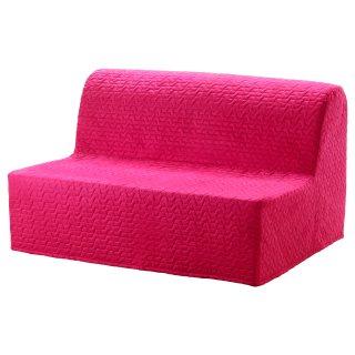 LYCKSELE LOVAS διθέσιος καναπές κρεβάτι, Ροζ | IKEA Ελλάδα