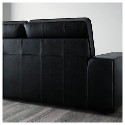 Kivik 4 Seat Sofa Black Ikea Greece