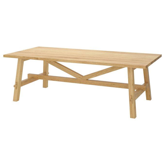 MOCKELBY table, Brown | IKEA Greece
