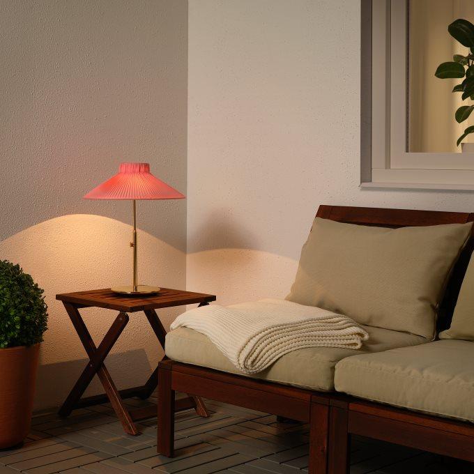 SOLVINDEN ηλιακό επιτραπέζιο φωτιστικό LED, εξωτερικού χώρου