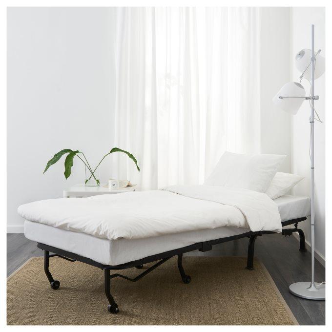 LYCKSELE LOVAS πολυθρόνα κρεβάτι, Γκρι | IKEA Ελλάδα