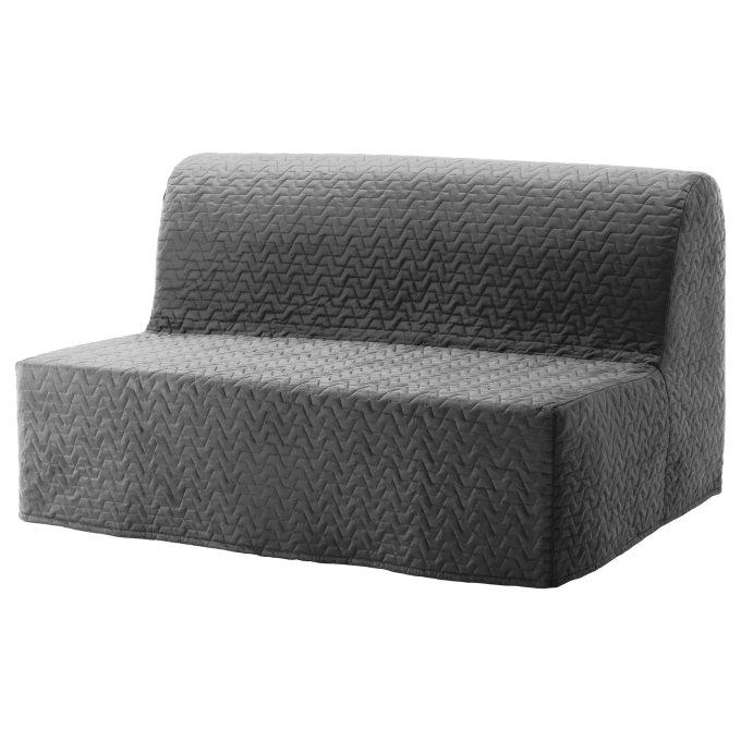 LYCKSELE LOVAS διθέσιος καναπές κρεβάτι, Γκρι | IKEA Ελλάδα