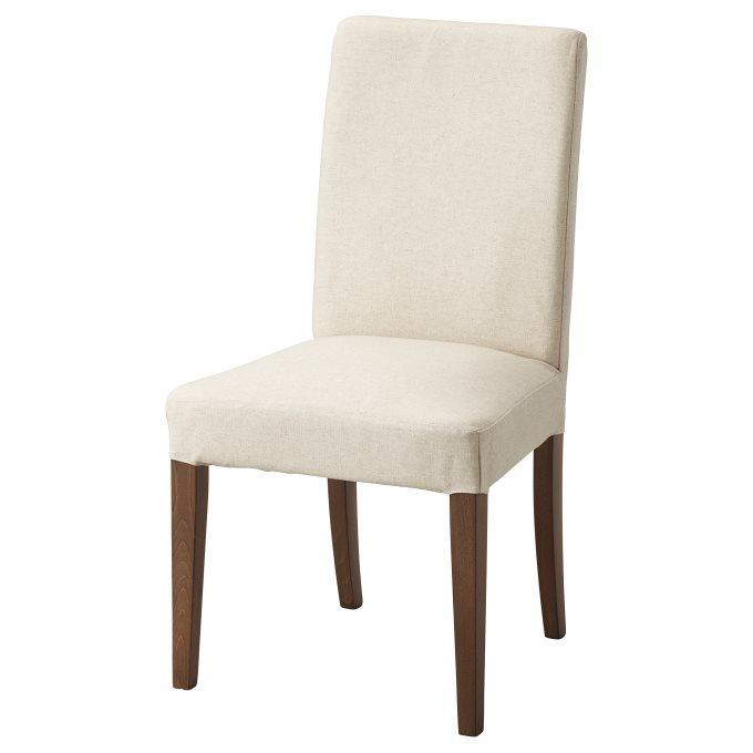 HENRIKSDAL καρέκλα, Μπεζ | IKEA Ελλάδα