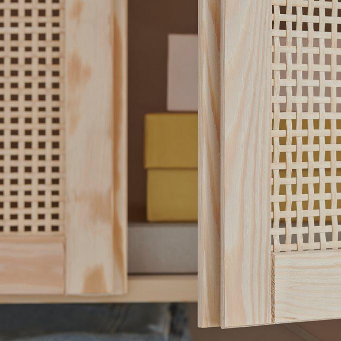 IVAR storage combination with doors, 174x30x179 cm | IKEA ...