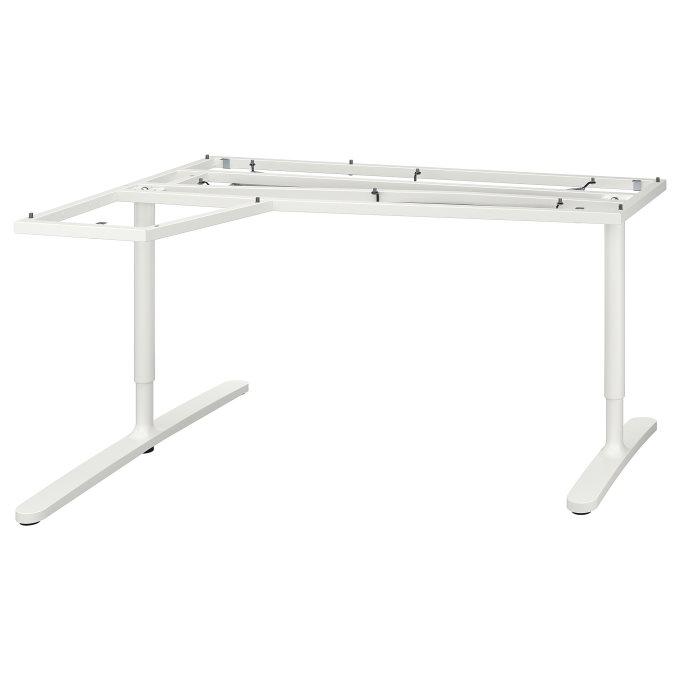 BEKANT βάση για γων επιφάνεια τραπεζιού, Λευκό | IKEA Ελλάδα