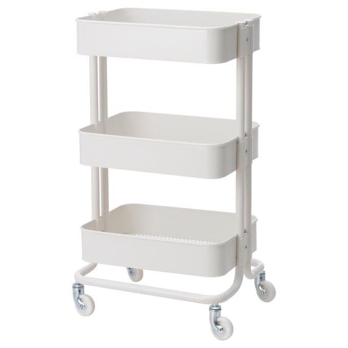 RASKOG τρόλεϊ, Λευκό | IKEA Ελλάδα