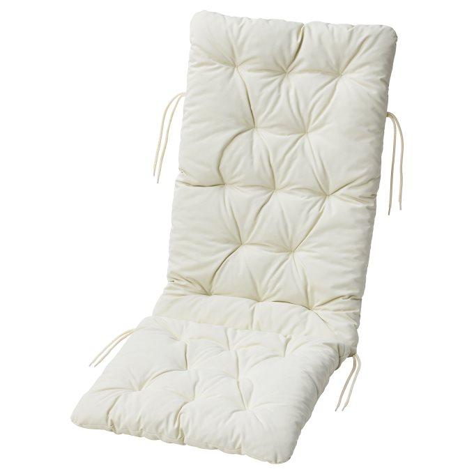 KUDDARNA μαξιλάρι καθίσματοςπλάτης, εξωτερικού χώρου, Μπεζ