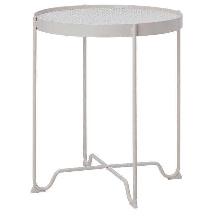 KROKHOLMEN side table, outdoor, Grey | IKEA Greece