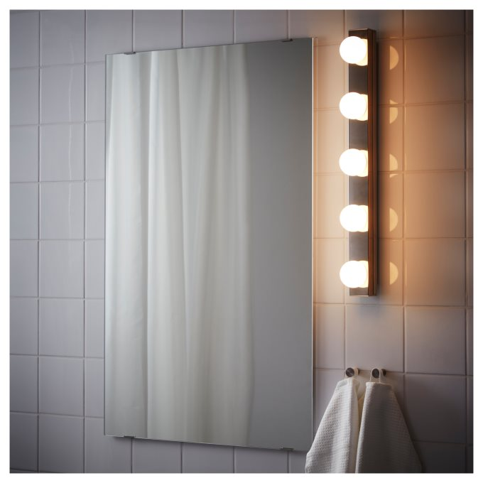 LEDSJO επίτοιχο φωτιστικό LED, Γκρι | IKEA Ελλάδα