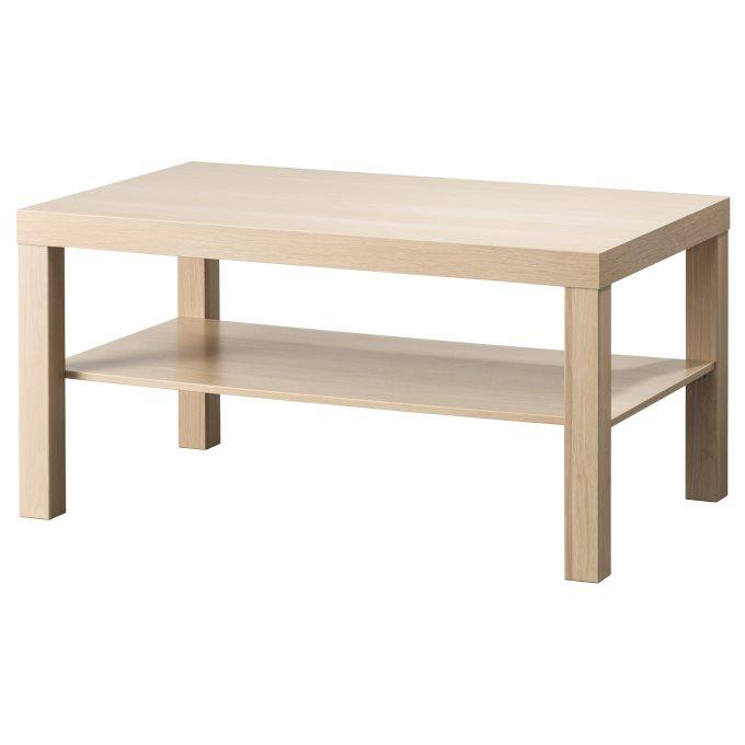 LACK coffee table, White | IKEA Greece