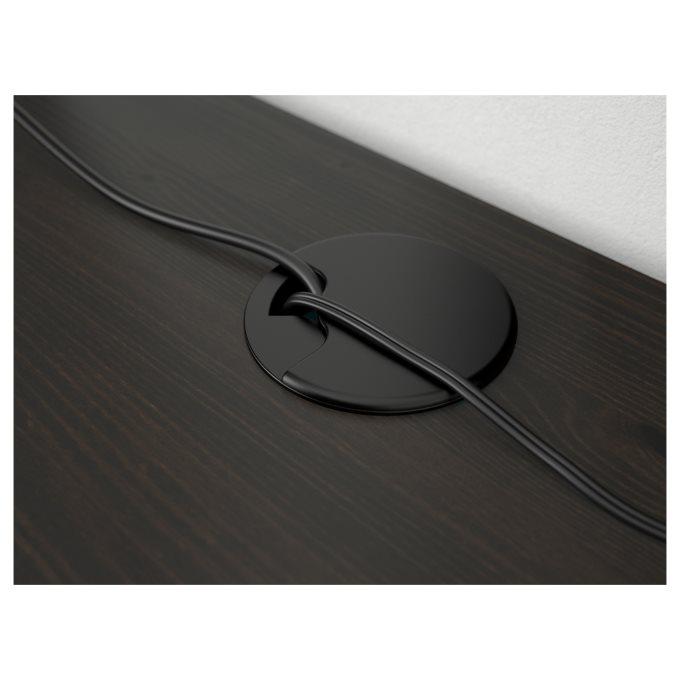 HEMNES desk, Black   IKEA Greece