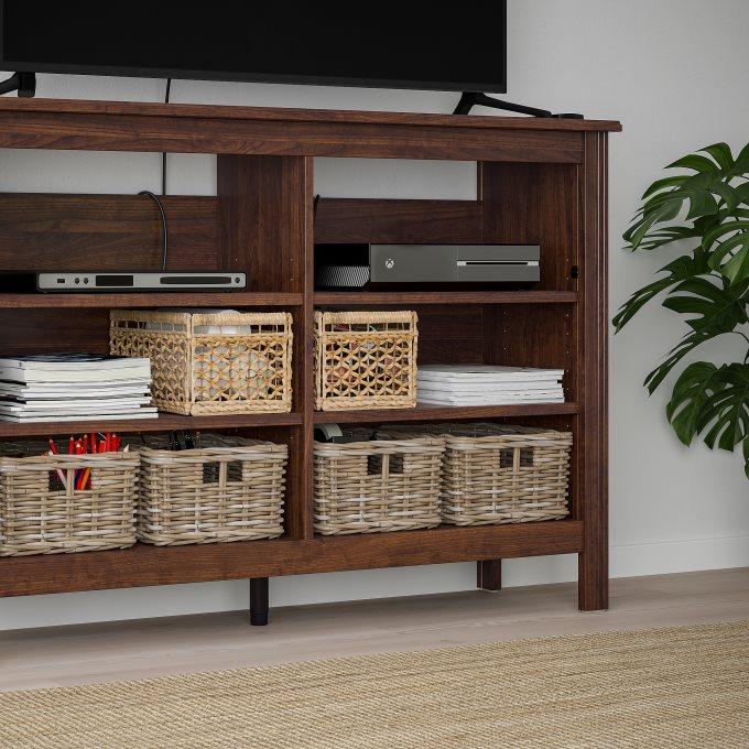 BRUSALI έπιπλο TV, Καφέ | IKEA Ελλάδα