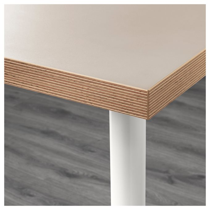 LINNMONALEX τραπέζι, Μπεζ   IKEA Ελλάδα