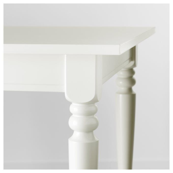 INGATORP επεκτεινόμενο τραπέζι, Λευκό | IKEA Ελλάδα