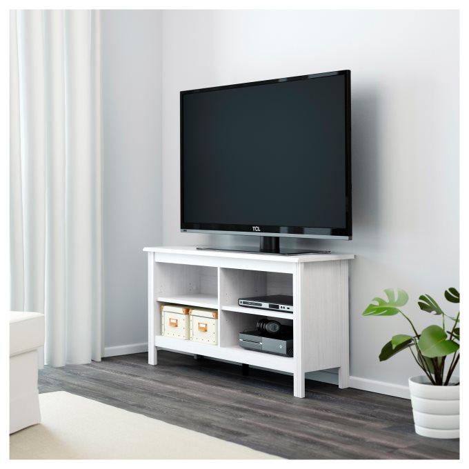 BRUSALI έπιπλο TV, Λευκό | IKEA Ελλάδα