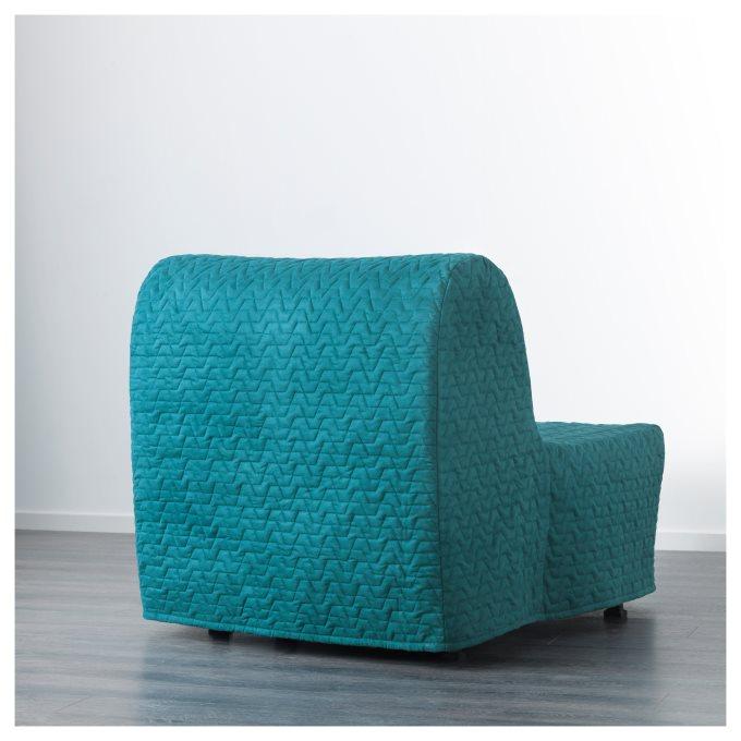 LYCKSELE LOVAS πολυθρόνα κρεβάτι, Τιρκουάζ | IKEA Ελλάδα