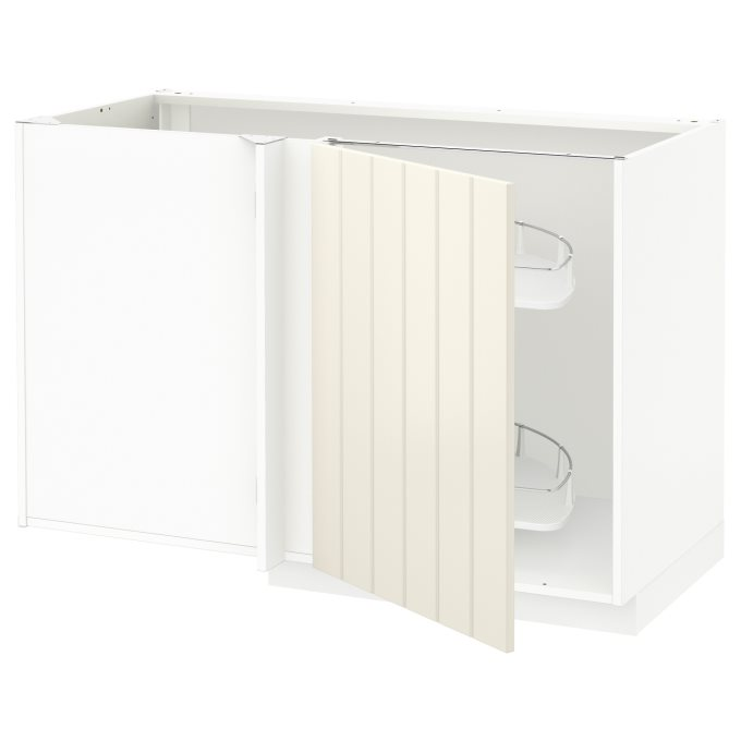 METOD corner base cab w pull-out fitting | IKEA Greece