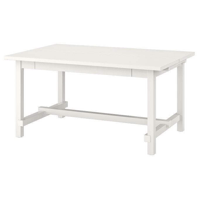 NORDVIKEN επεκτεινόμενο τραπέζι, Λευκό   IKEA Ελλάδα
