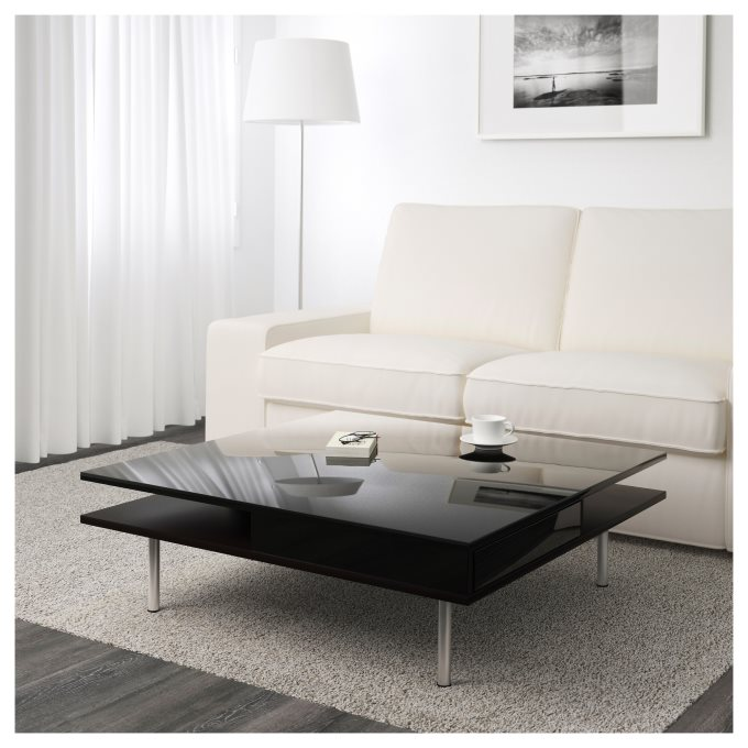TOFTERYD coffee table, Black | IKEA Greece