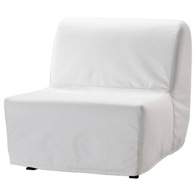 LYCKSELE LOVAS Πολυθρόνα κρεβάτι, Λευκό | IKEA Ελλάδα