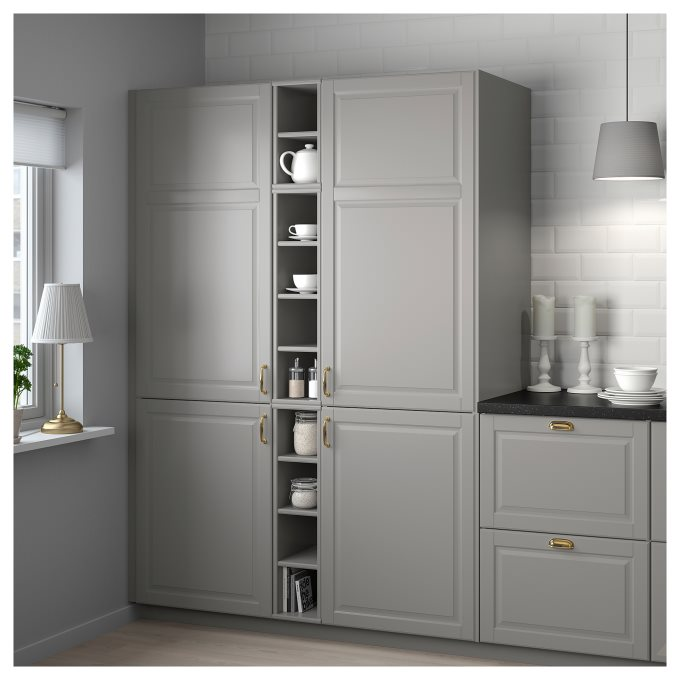 TORNVIKEN open cabinet, Grey | IKEA Greece